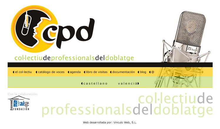 CPD – Colectiu de profesionals del doblaje