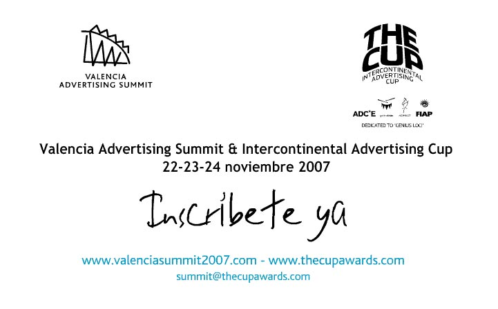 THE CUP – INTERCONTINENTAL ADVERTISING CUP