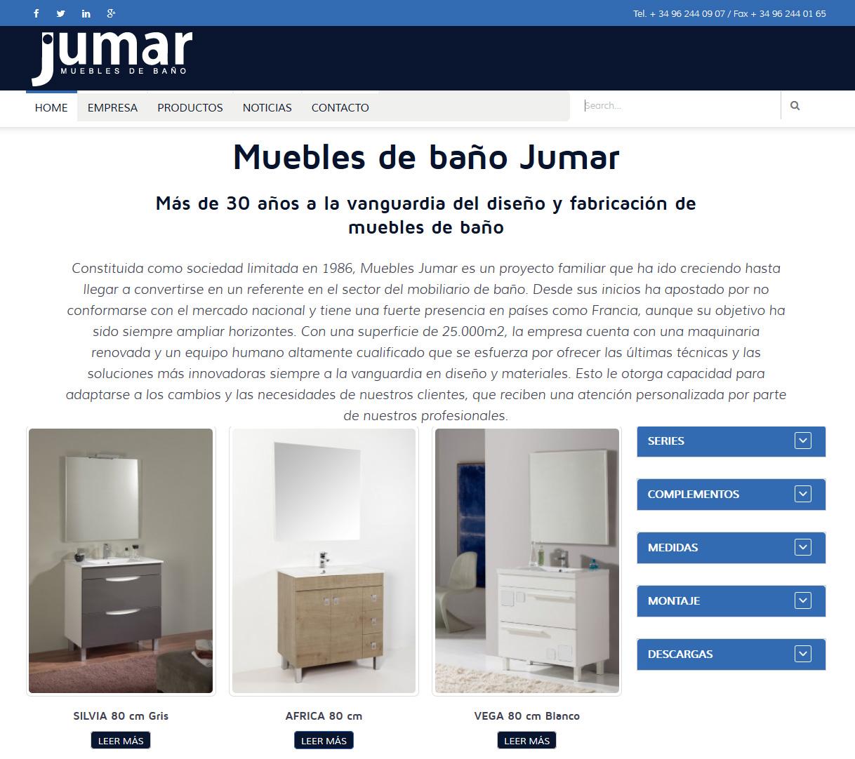 MUEBLES DE BAÑO JUMAR