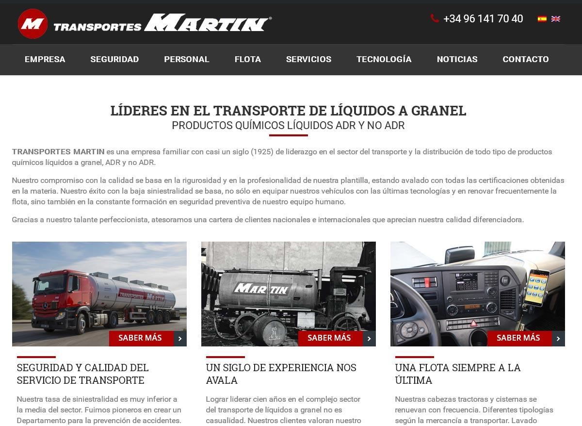 TRANSPORTES MARTIN