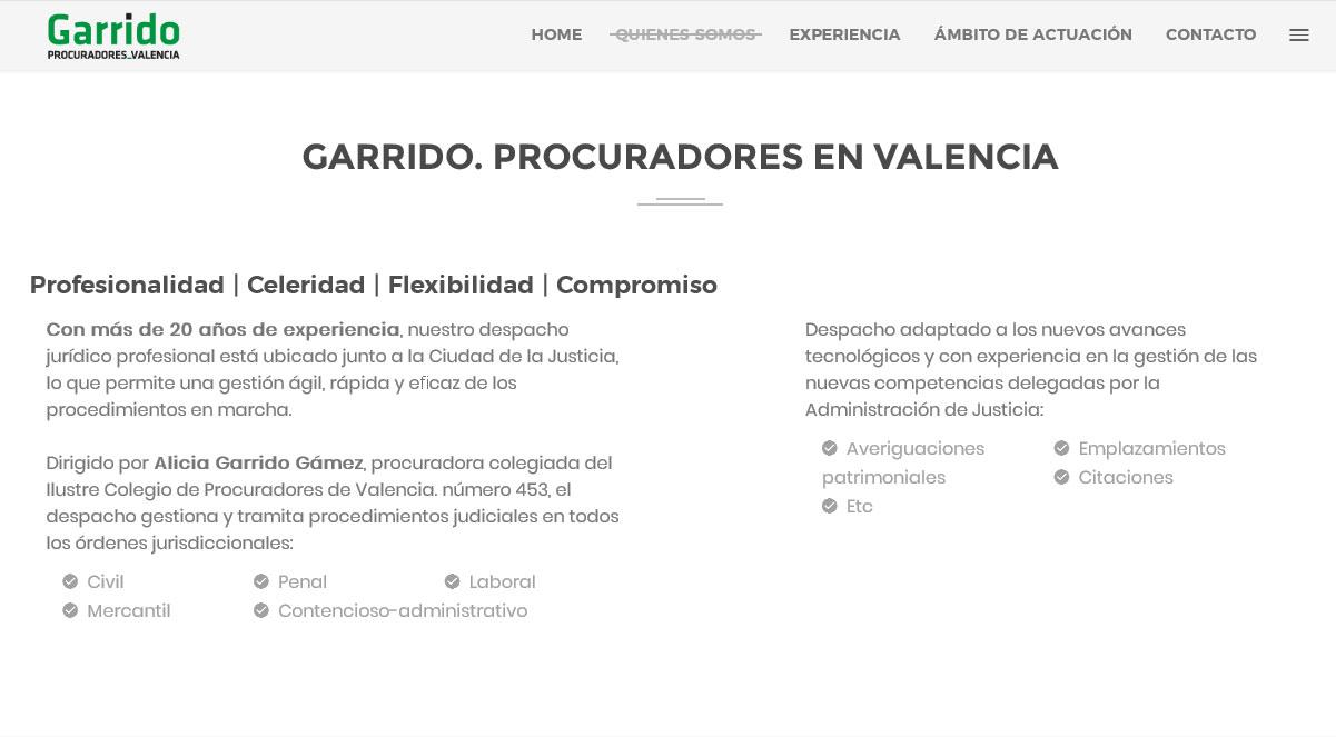 GARRIDO PROCURADORES